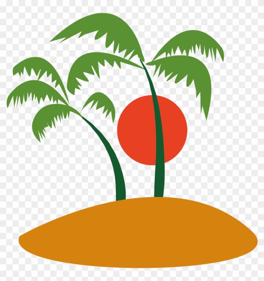 Ilha Do Coqueiro Coconut Tree Clip Art - Ilha Coqueiro Png #28658