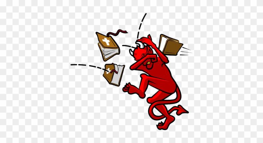 Bible Thumper - Satan Clipart #28708