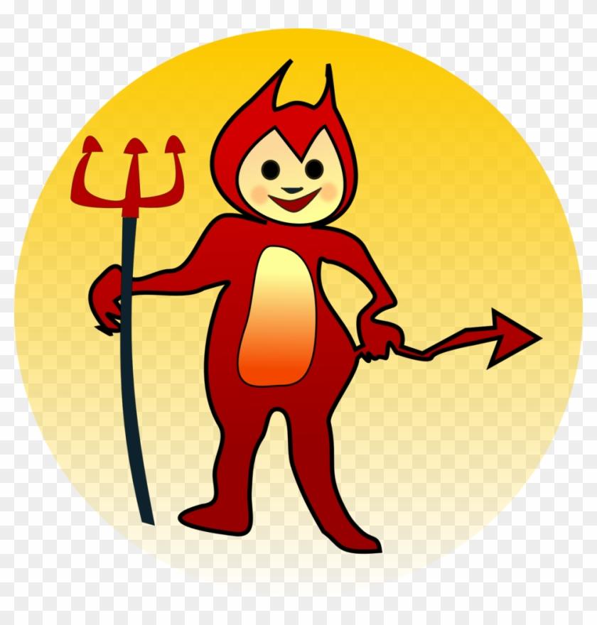 Littel Devil Icon - Naughty Clipart #28748