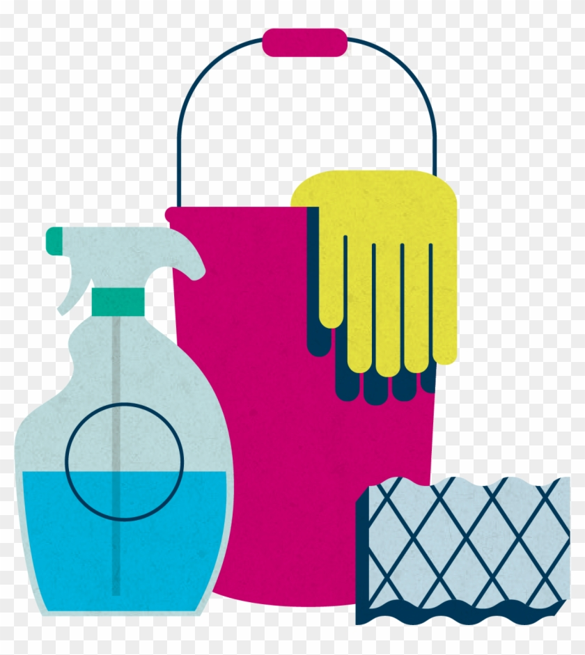 Mgic/link Servicing Cleaning Supplies Icon - Clip Art Cleaning Supplies #28763