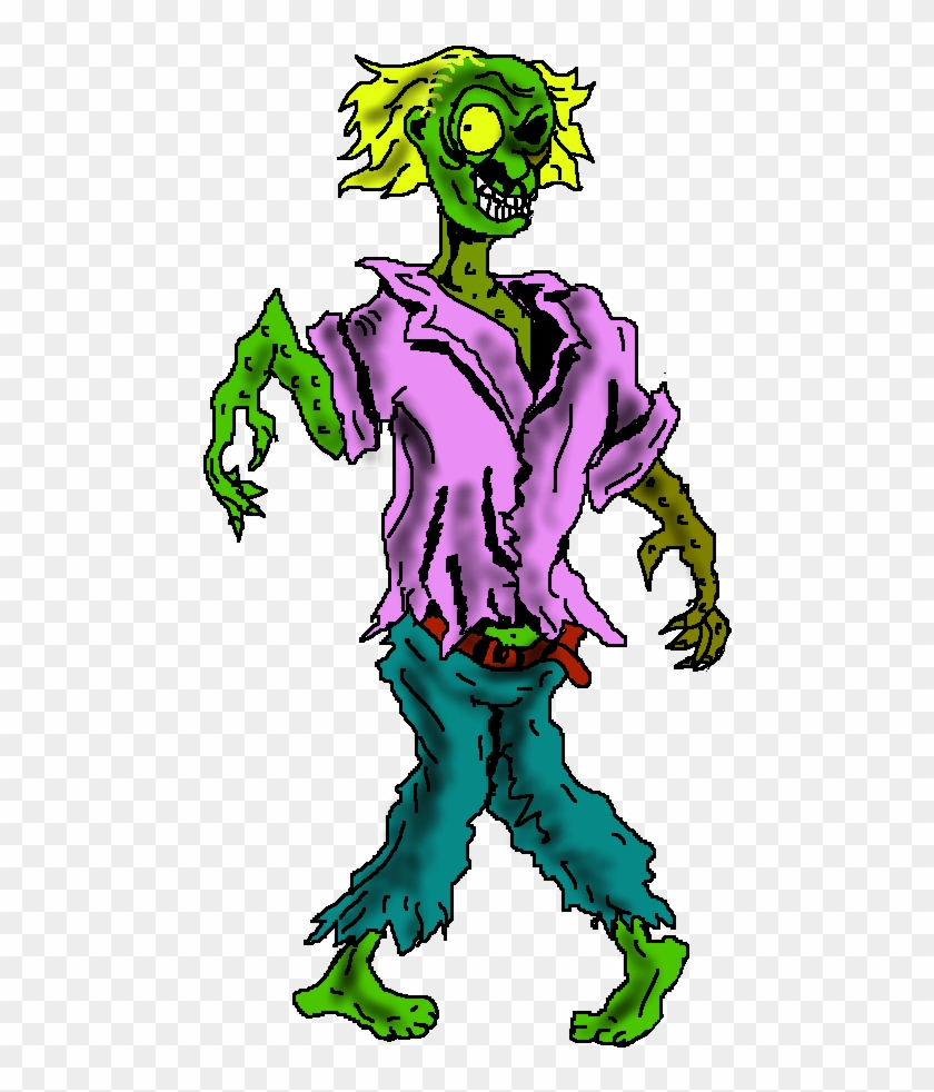 Free To Use Public Domain Halloween Clip Art - Cartoon Zombie Png Transparent #28768