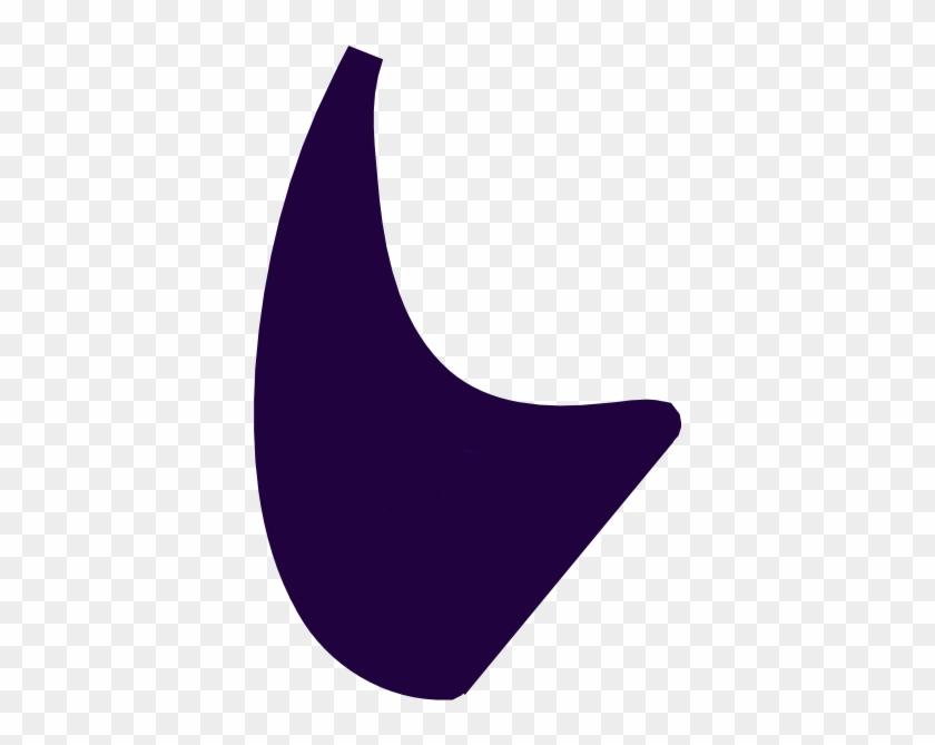 Purple Devil Horns Clip Art - Black Devil Horns Clip Art #28779