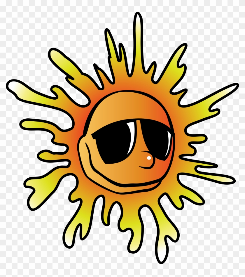 Sun With Glasses Png #28833