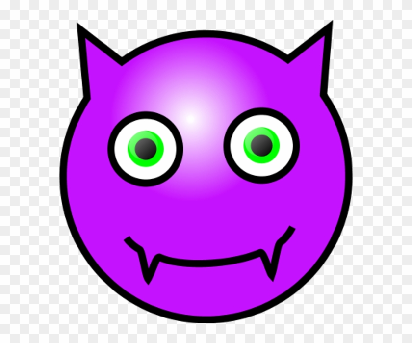 Emoticons Devil Face Clipart - Annoyed Face #28832