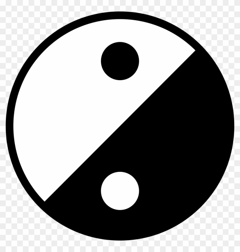 Simple Clipart - Yin And Yang #28866