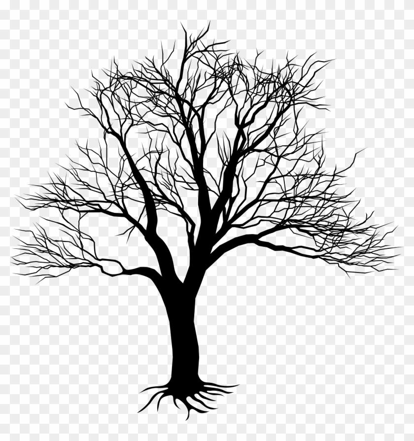 Drawing Clipart Transparent - Árvore De Digitais Vetor #28869