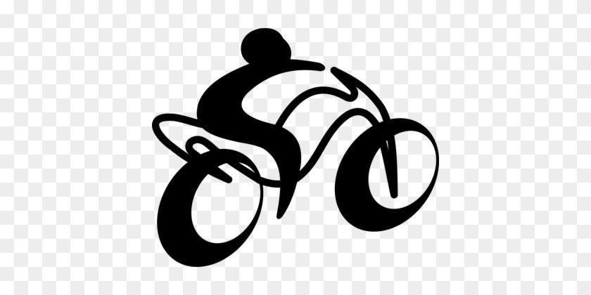 Motorbike Bike Motorcycle Transportation S - Moto Png #28906