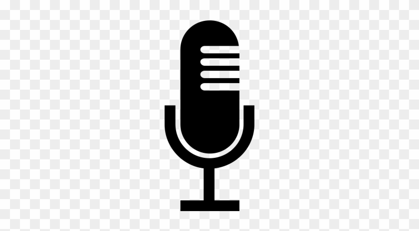 Audio Recording - Art Microphone Transparent Background #28928