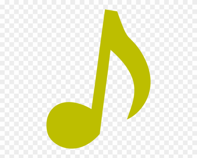 Green Music Note - Music Notes Clip Art #28964