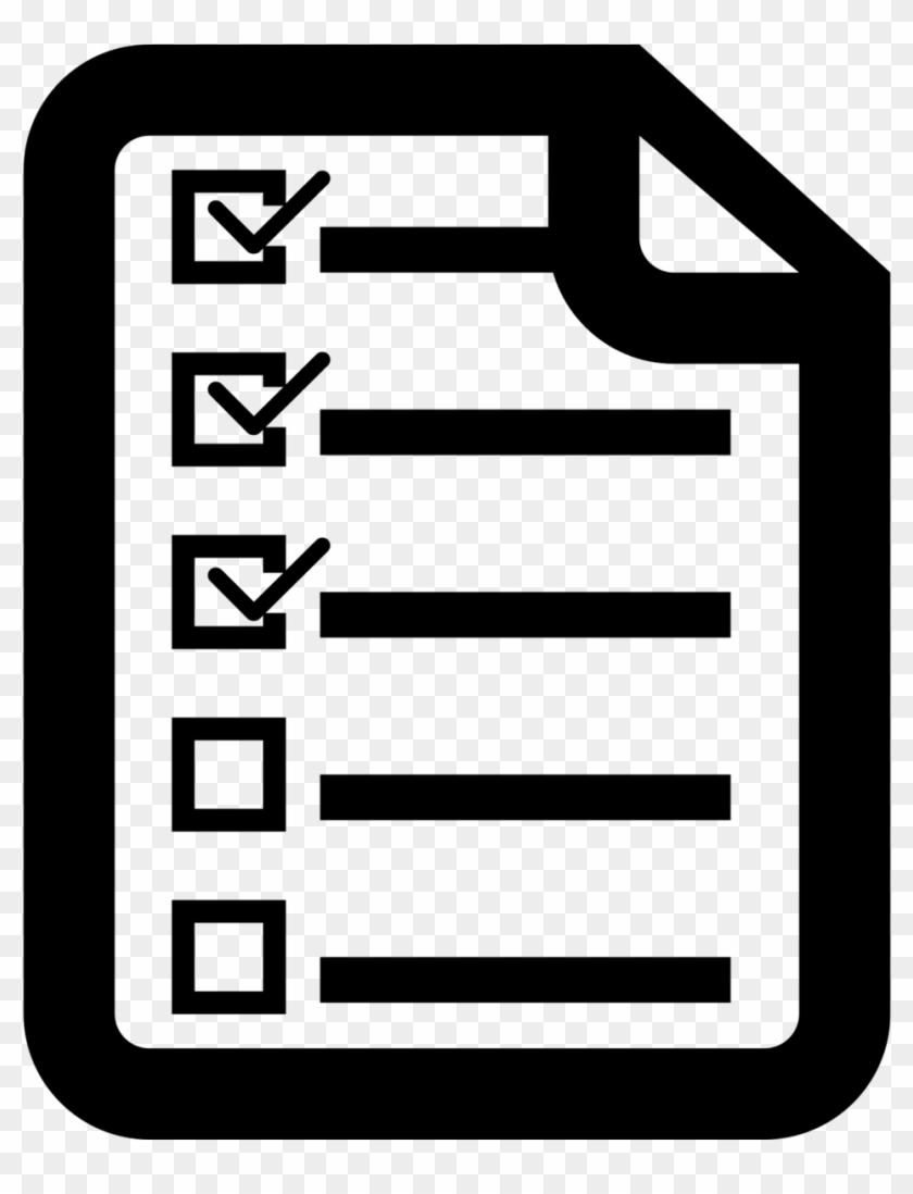 Study Skills Resources - Checklist Black And White #28966