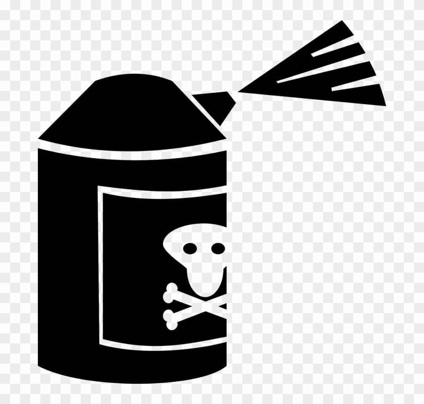 5 Environmental Pollutants - Pesticide Clipart #28984