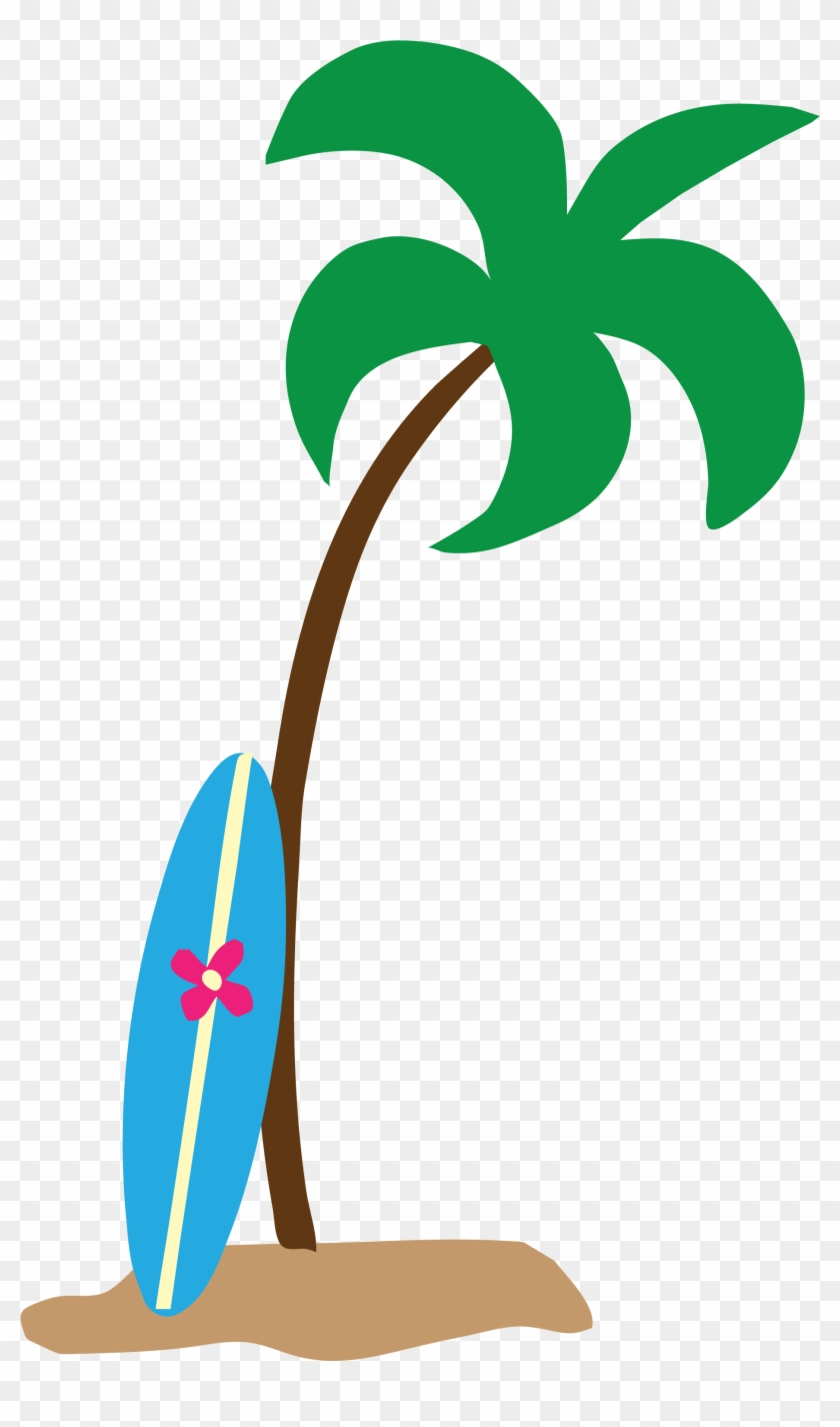 Where Are Students Going For Spring Break - Palm Tree Beach Clip Art #29002
