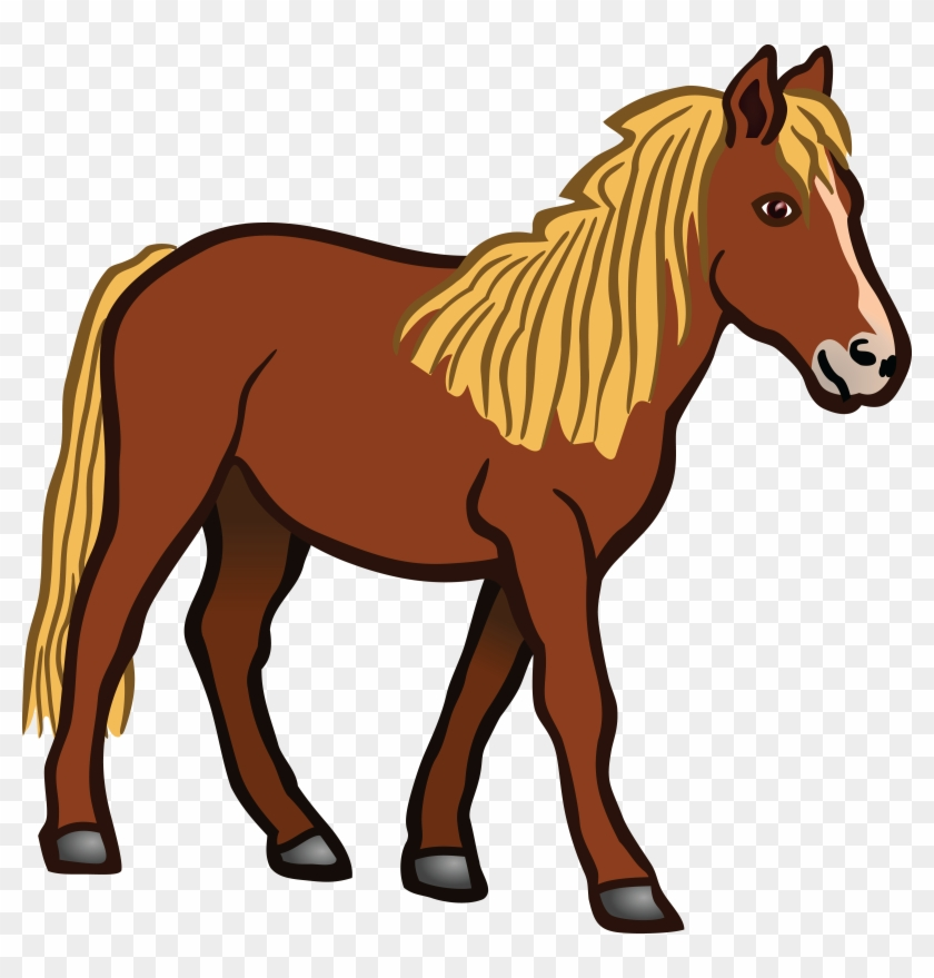 Free Clipart Of A Horse - Horse Clipart Png #29007