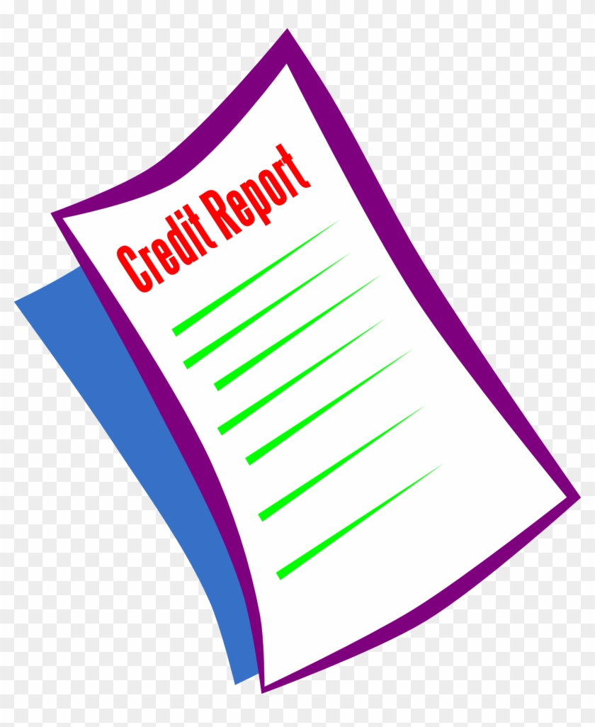 Requesting For A Credit Report - Credit Clipart #29004