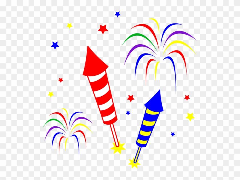Free Fireworks Clip Art - Fireworks Clipart #29065