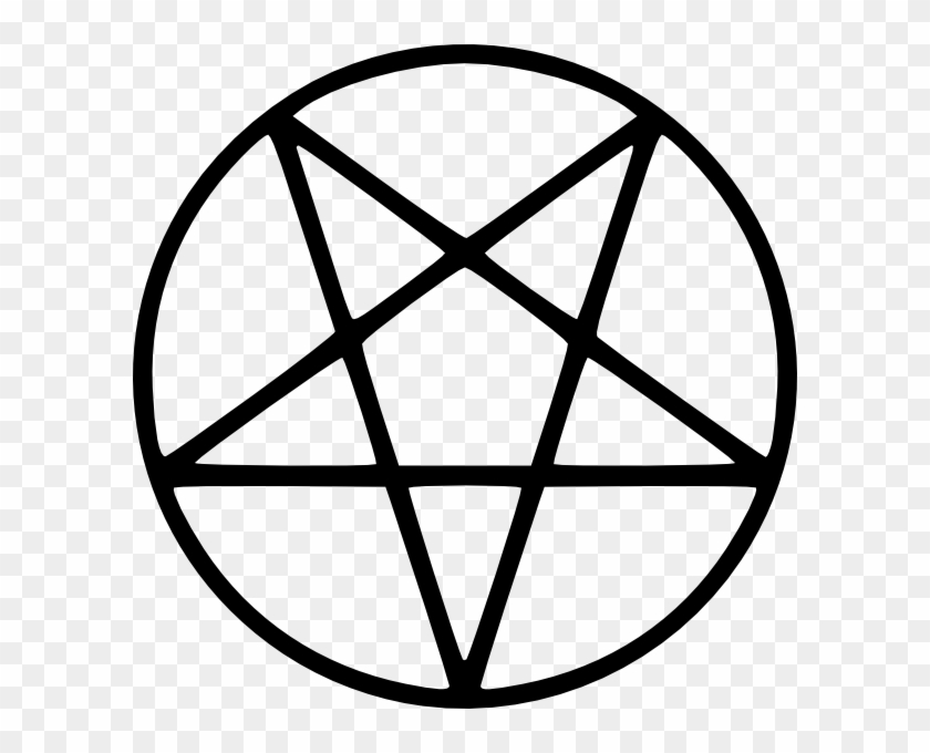 Demon Clipart Symbol Supernatural Satanism Pentagram Free