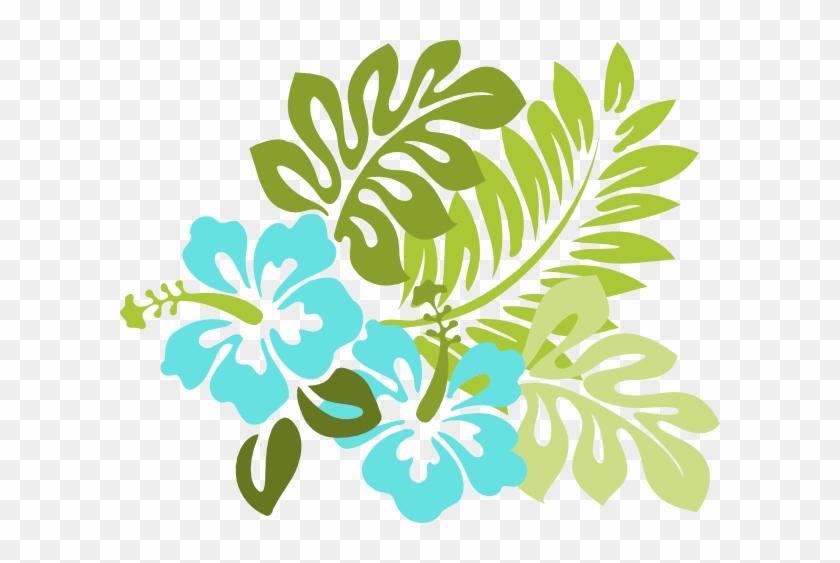 Hibiscus Edit Jm83 Clip Art At Clker - Hawaiian Flower Png #29148