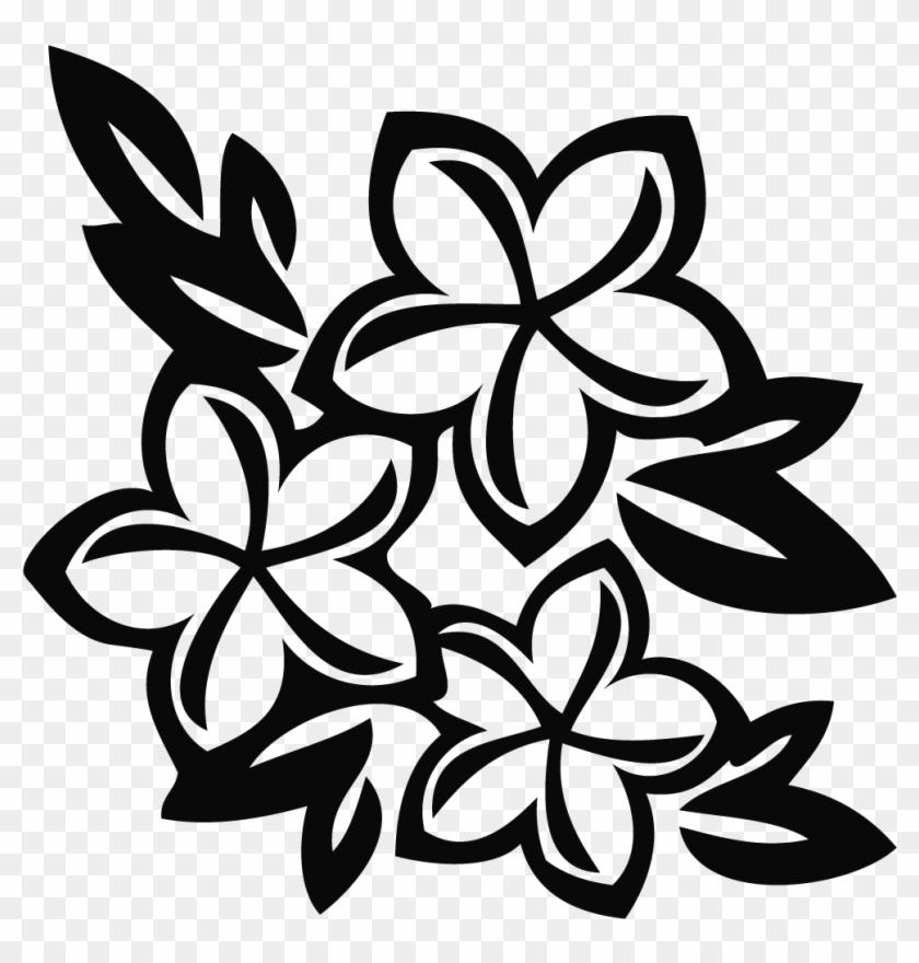 Plumeria Flower Clip Art #29184