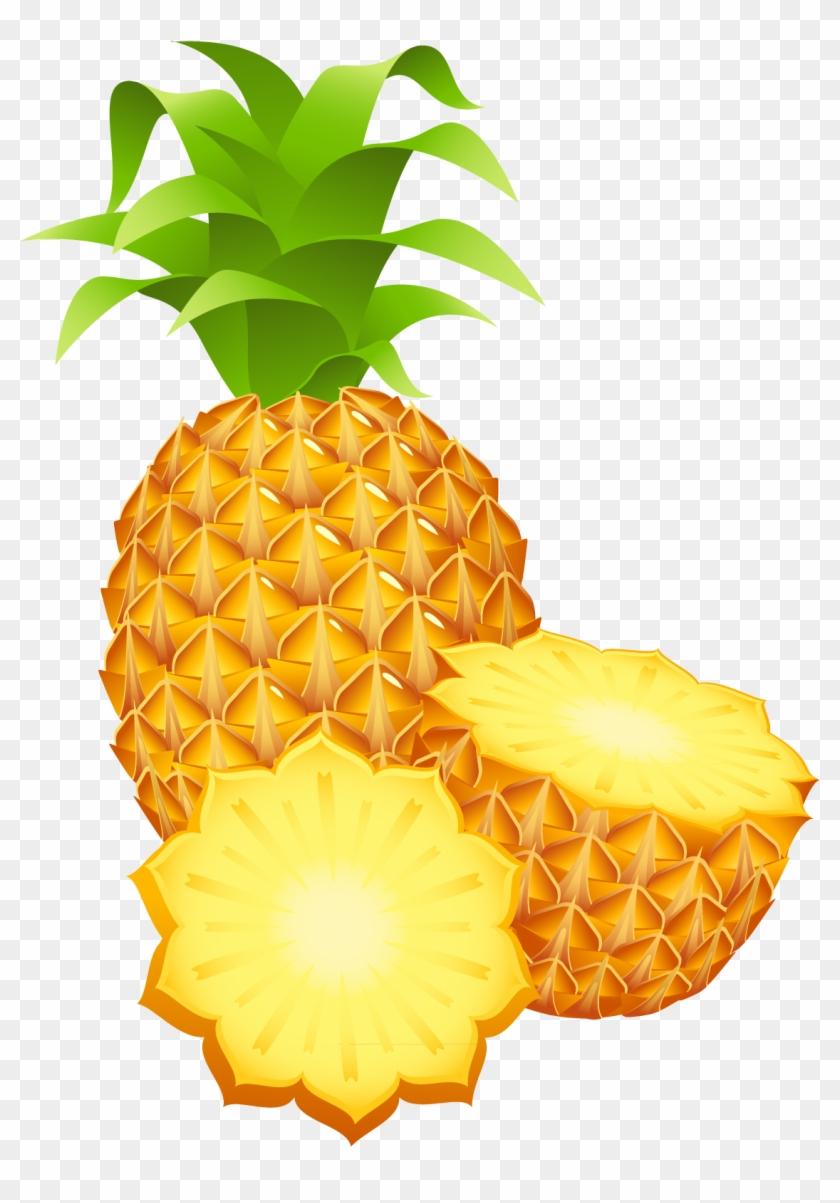 Pineapple Clip Art - Pineapple Png #29195