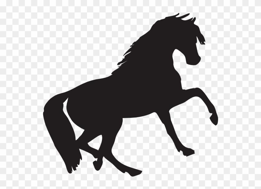 Mustang Clip Art - Horse Silhouette Clip Art #29186