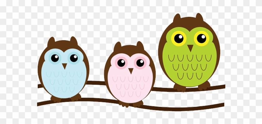 Owl On Branch Clipart - Cute Clipart #29191