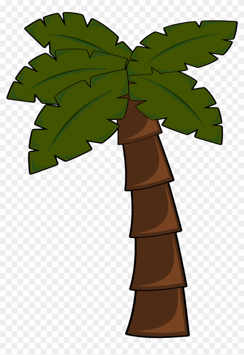 Clipart Palm Tree - Jungle Tree Clip Art #29199