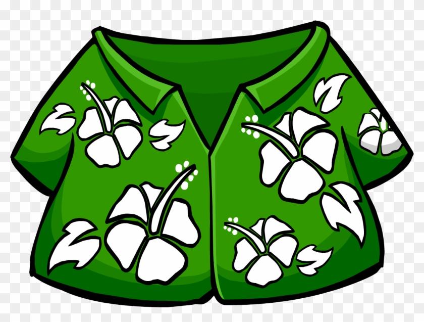 Hawaiian Shirt Clip Art - Hawaiian Shirt Clip Art #29218