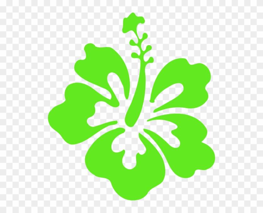 Hibiscus Clip Art At Vector Clip Art - Hawaii Flower #29259
