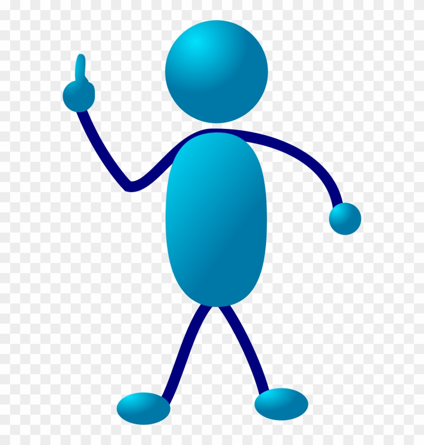 Free Vector Stick Man Clip Art - Bring Me To Your Leader #29276