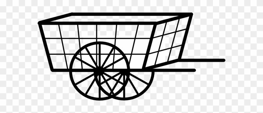 Cart Clip Art - Cart Clipart Black And White #29299
