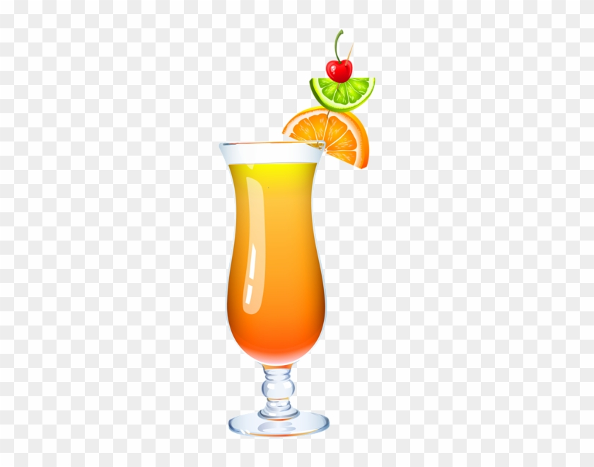 Exotic Cocktail Png Clipart Picture - Mai Tai Clip Art #29339