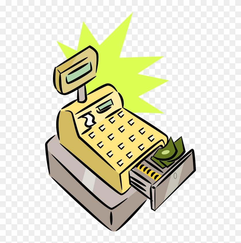 The Totally Free Clip Art Blog - Cash Register Clip Art #29394