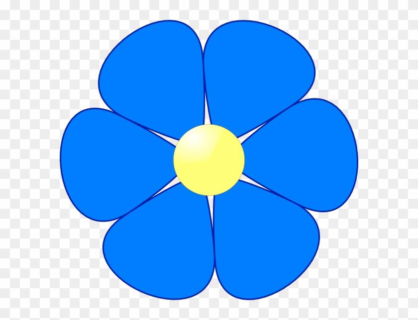 Flowers Clip Art Free Clipart Images - Blue Flower Clip Art #29404