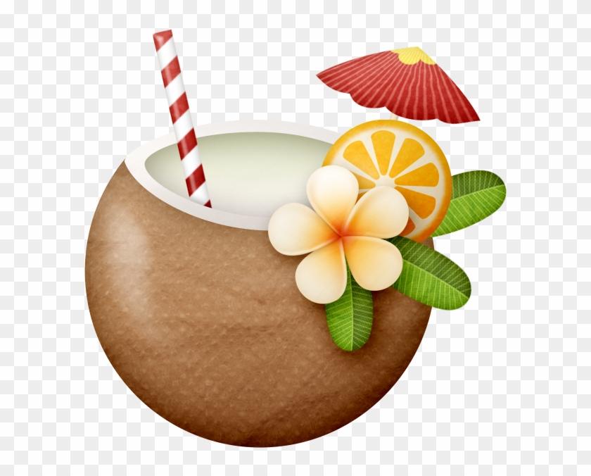 Фото, Автор Ladylony На Яндекс - Hawaiian Coconut Clipart #29425