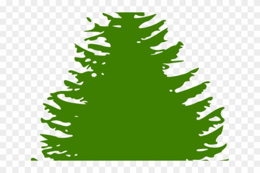 Pine Tree Graphic - Pine Tree Silhouette #29456