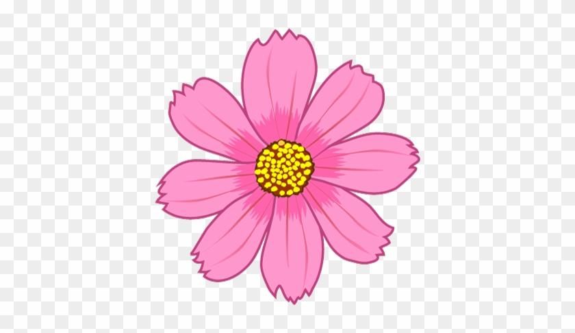 Cosmos Flower - Cosmos Flower Clipart #29460