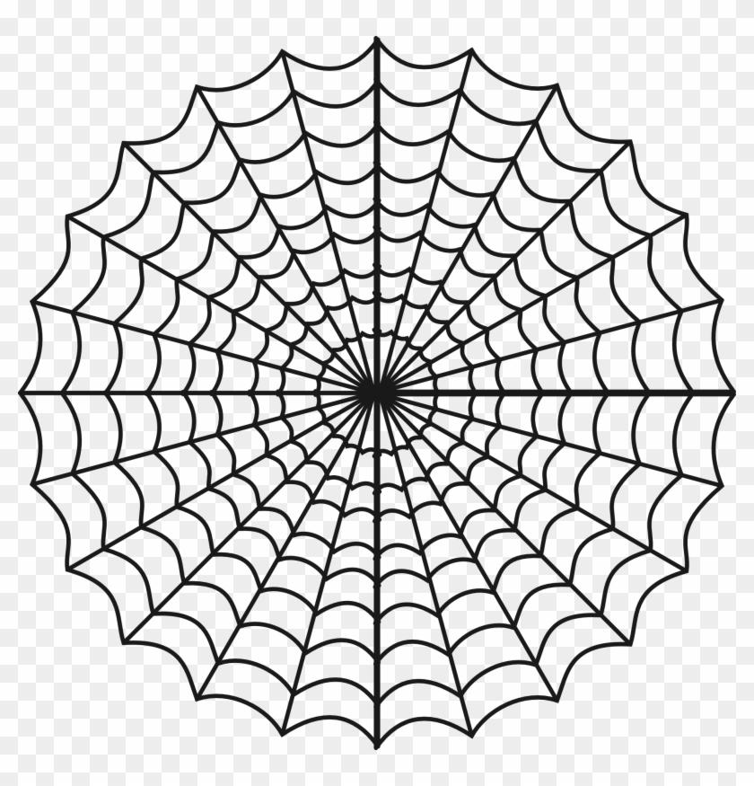 Popular Items For Cheap Clip - Spider Web Clip Art #29510