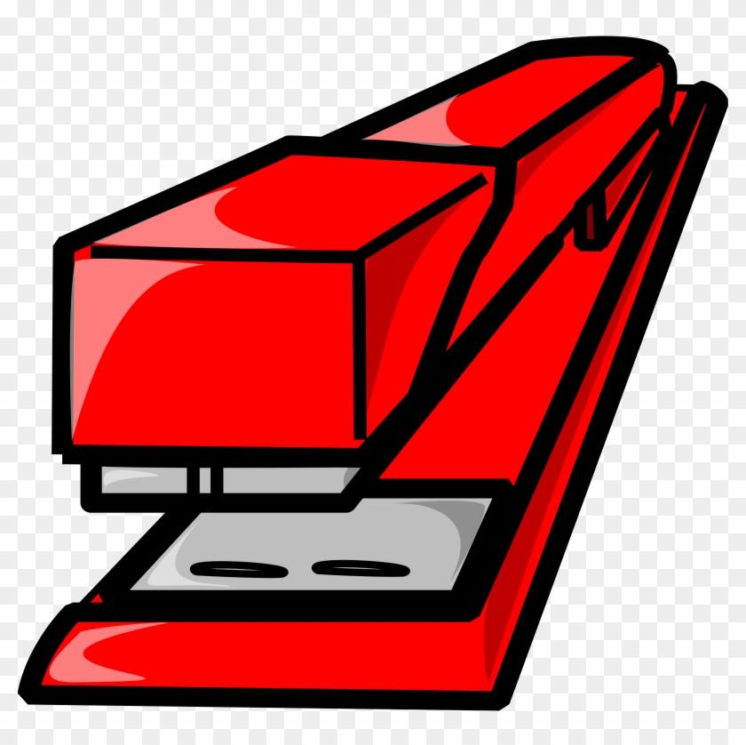Free Vector Stapler Clip Art - Stapler Clipart #29517