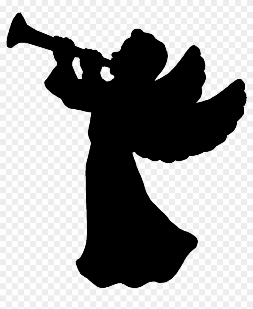 Angel Silhouette - Angel Silhouette Png #29538