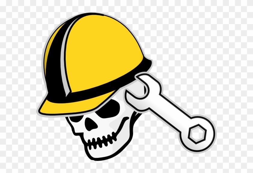 Engineering Clip Art - Hard Hat Clip Art #29564
