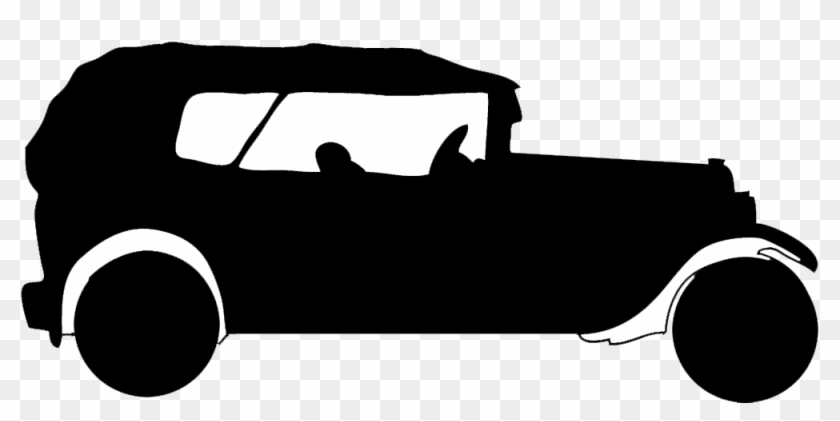 Old Car Silhouette Png #29599