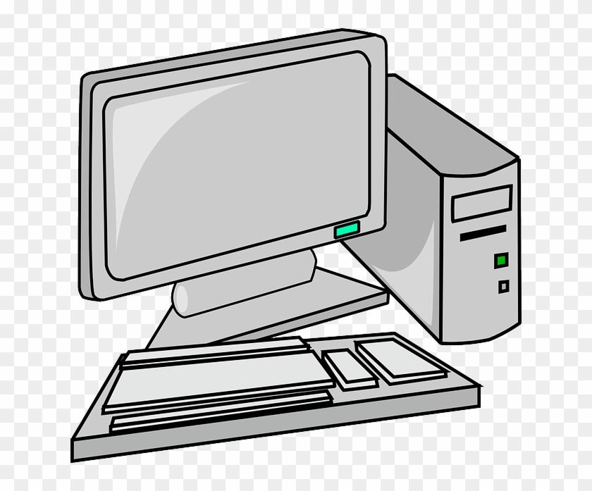 Pc Desktop Svg Downloads - Pc Clip Art #29632