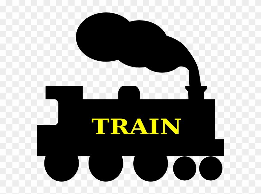 Train Silhouette Clip Art - Vector Silhouette Train #29655