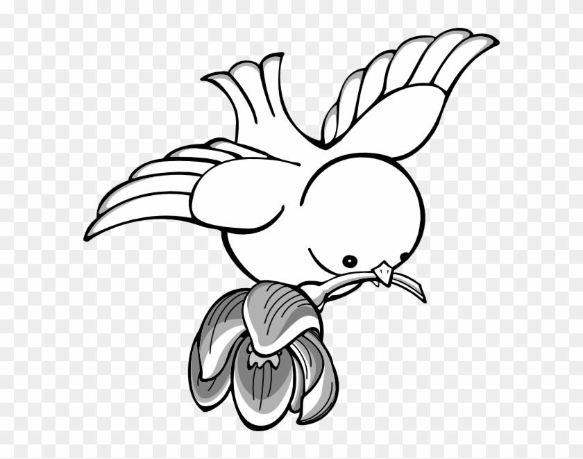 Bird Clipart - Drawing Of Flying Birds #29661