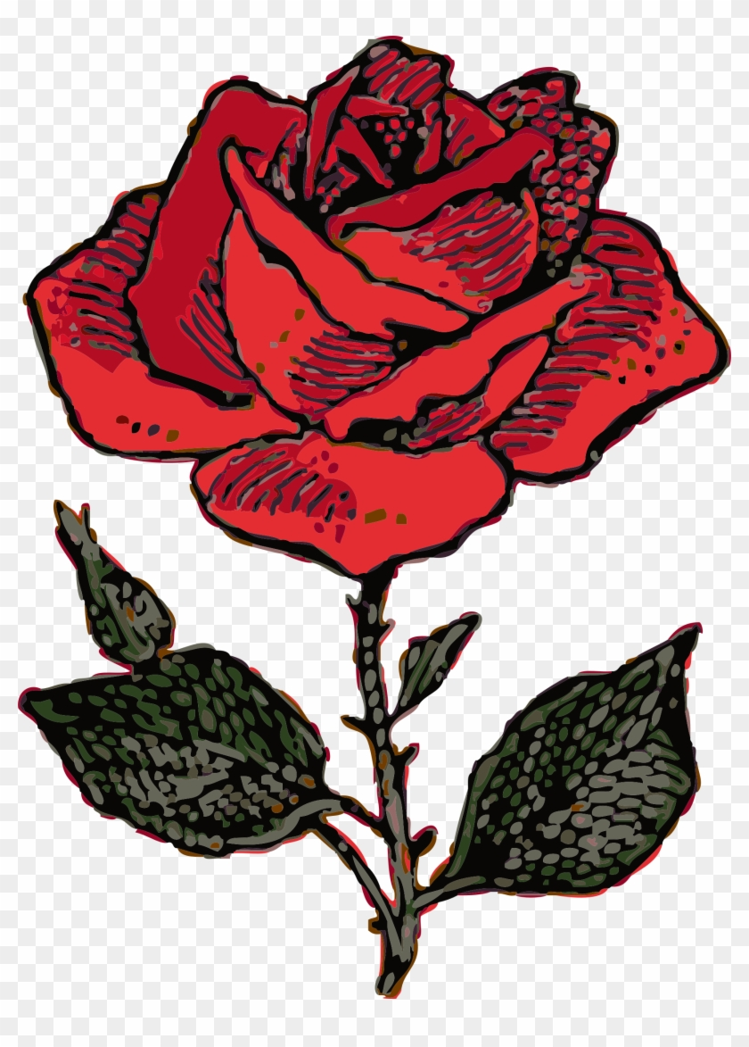 Rose Clip Art - Coat Of Arms Rose #29679
