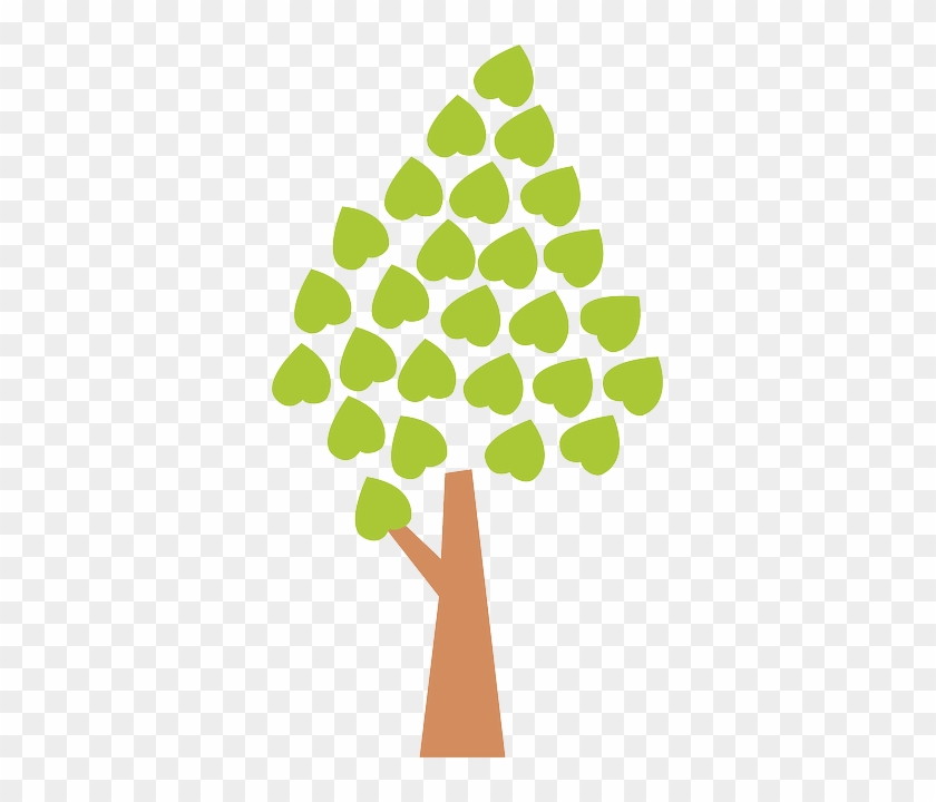 Environment Tree, Leaves, Autumn, Green, Ecology, Environment - Family Tree Two Generations #29725
