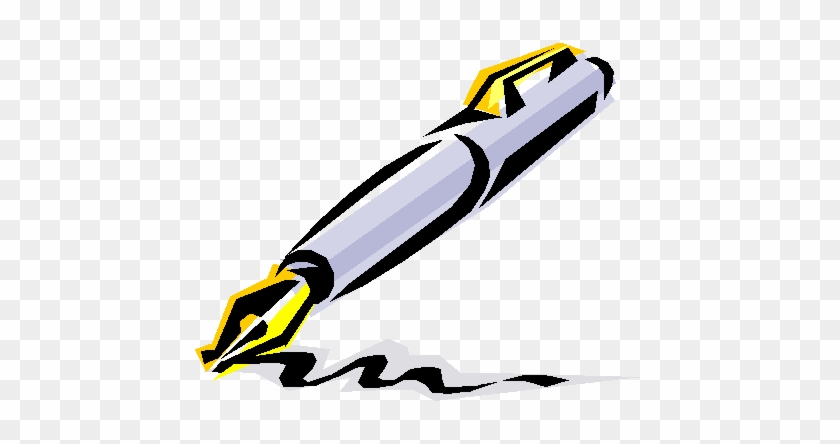 Increasing Brand Perception - Pen Writing Clip Art #29735