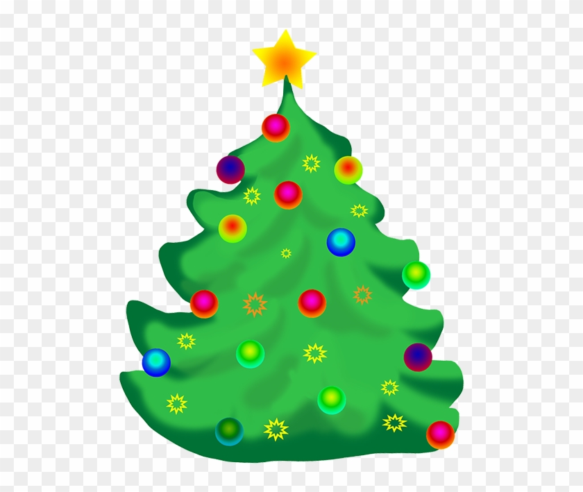 Decorated Christmas Tree Clip Art - Christmas Day #29762