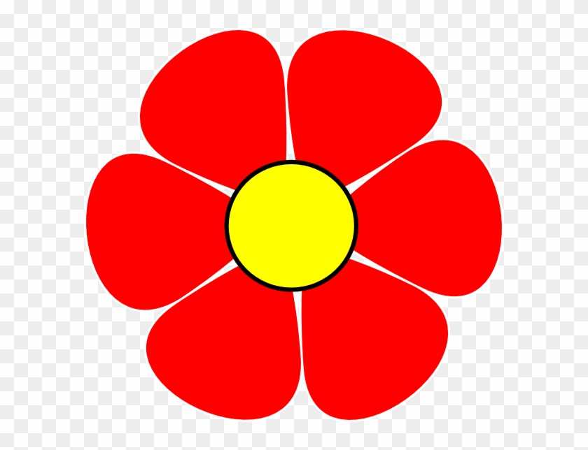 Red Flower Clipart - Flowers Clip Art Red #29818