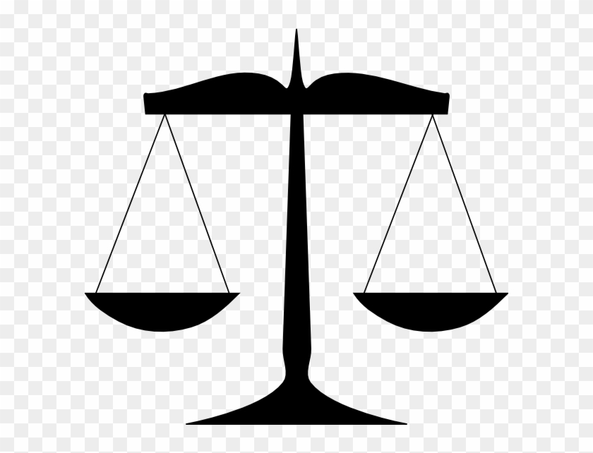 Clip Art Scales Of Justice - Scales Of Justice Clip Art #29847